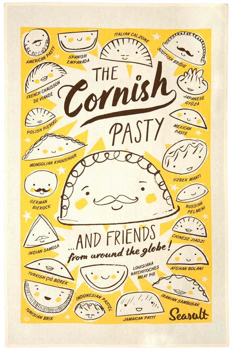 Cornish pasty and friends from around the globe by Matt Johnson