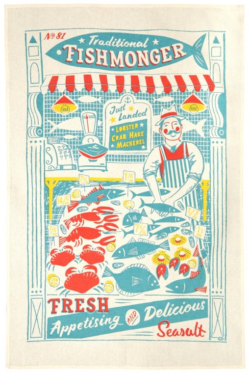 Fishmonger illustration by Matt Johnson