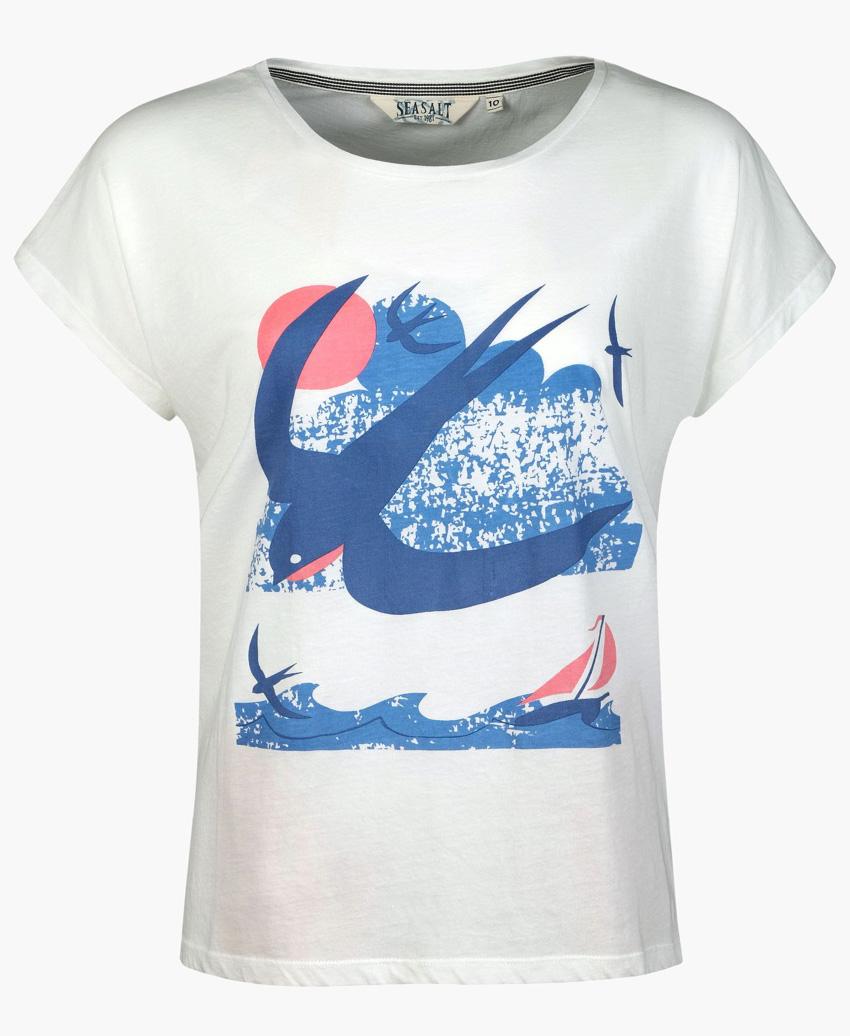 Swallow t-shirt print by Matt Johnson