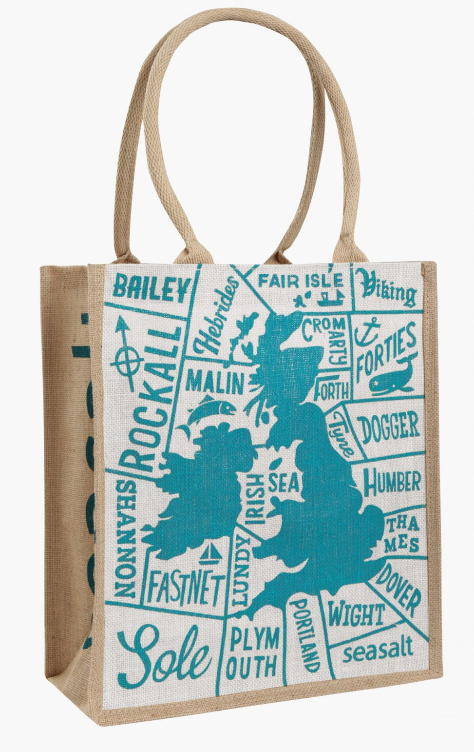 Shipping Forecast map illustration by Matt Johnson for Seasalt Cornwall