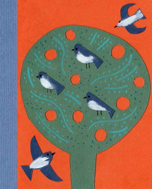 Bird collage by Matt Johnson