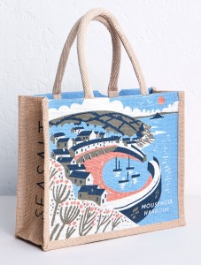 Mousehole Harbour Bag Print Matt Johnson