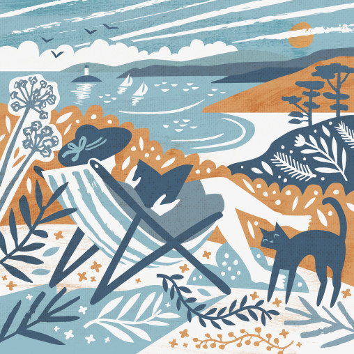 talland-garden-cornwall-illustration-matt-johnson
