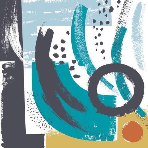 Abstract print by Matt Johnson