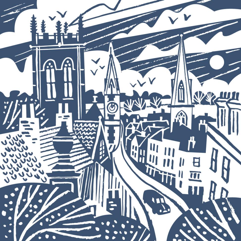 Dorchester illustration by Matt Johnson