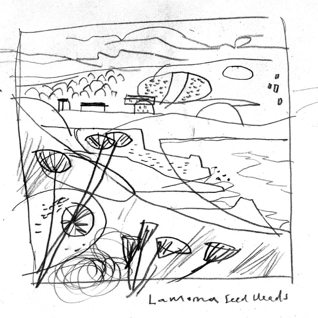 Lamorna Cove Sketch by Matt Johnson