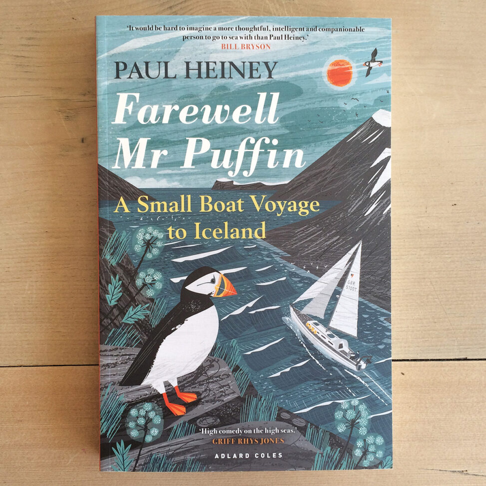 Farewell mr Puffin by Paul Heiny - Book cover illustration by Matt Johnson